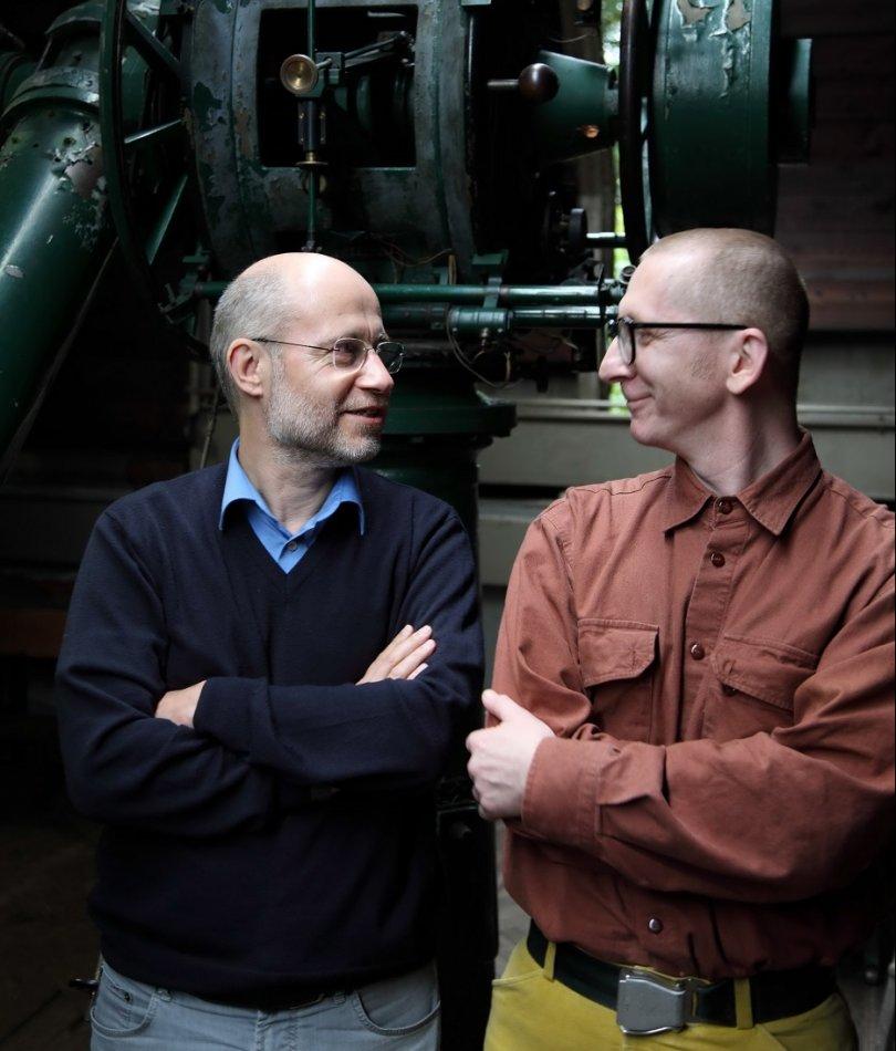 Gunkl und Harald Lesch